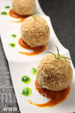 Non-fry/免炸南瓜Rice可樂餅,年菜食譜