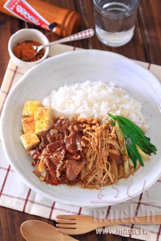 早午餐食譜,早餐食譜,日本料理食譜,便當是舖-壽喜燒Plate